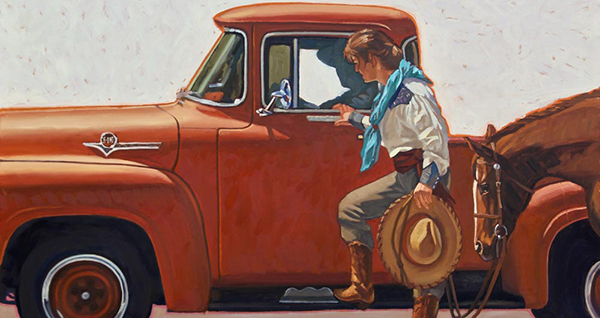 Dennis Ziemienski - Cowboys and Cowgirls