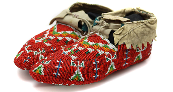 May 12, 2021 Will Shuster Painting, Beaded Moccasins, Jewelry, Pottery, Weavings