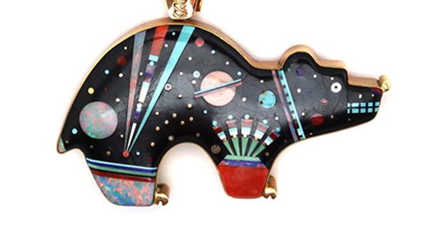 August 4, 2021 Important Jewelry Collection plus Pueblo Pottery, Baskets, Navajo Weavings