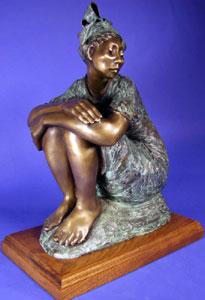 "Shirley Thomson-Smith, Camilla, Bronze Edition of 20, 20"" x 16"" x 9"""