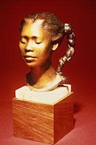 "Shirley Thomson-Smith, Courtney, Bronze Edition of 35, 13"""
