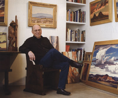 Ed Mell in Studio, Photo by Jeff Newton