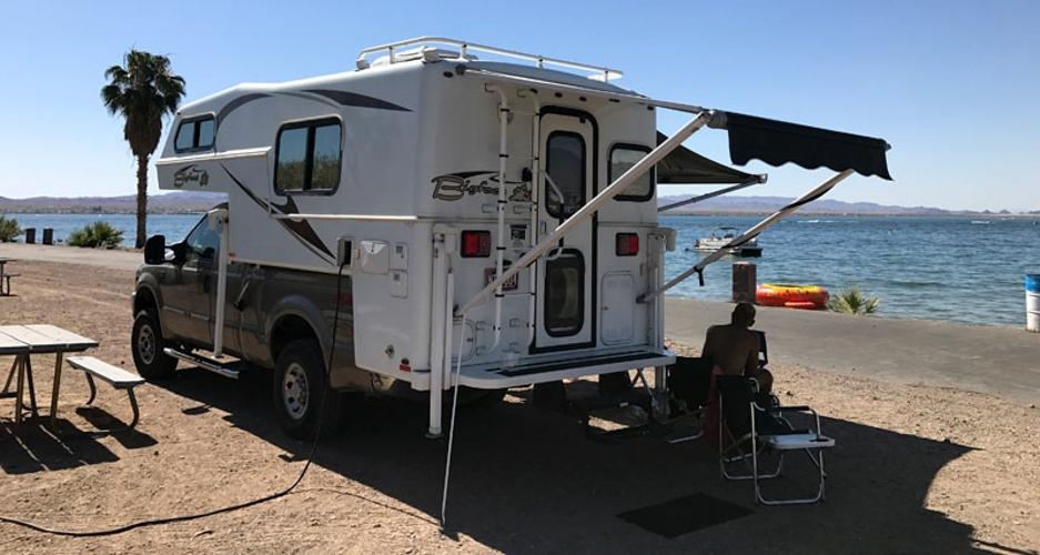 Lake-Havasu-Camping-by-Water