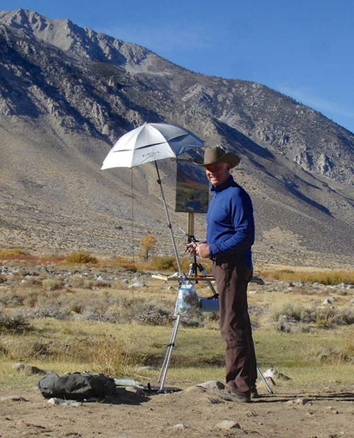 Painting-on-location-near-Bishop-California