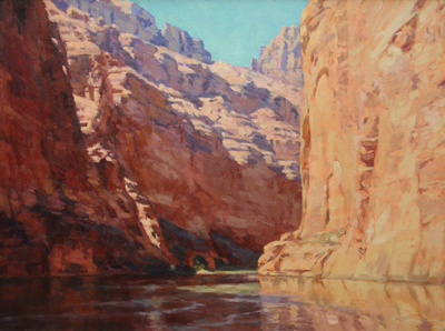 "Gregory Hull, Grand Canyon Journey, Oil on Canvas, 30"" x 40"""