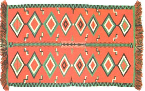 Navajo Germantown Blanket