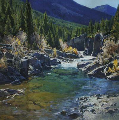 Josh Elliott, Autumn Afternoon, Oil, 30