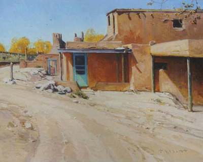 "Josh Elliott, Colors of New Mexico, Oil, 16"" x 20"""