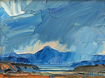 Louisa McElwain, Veils, Oil on Canvas, 12