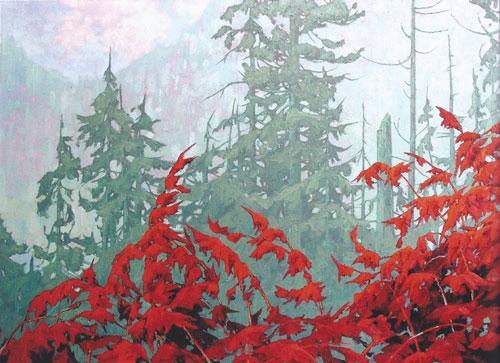"Dominik Modlinski - Coastal Spirit, oil on canvas 48"" x 60"""