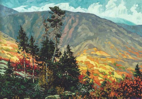 "Dominik Modlinski - Northern Legacy, oil on canvas, 43"" x 60"""