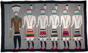 Navajo Yeibeichei Rug