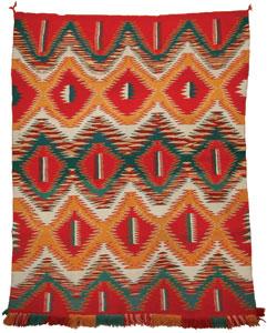 Native American Rugs In Santa Fe: Collecting Navajo Rugs Part 1