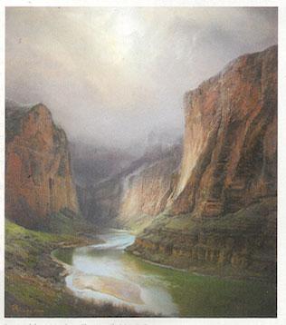 "Peter Nisbet, Harding Classic, oil, 28"" x 24"""