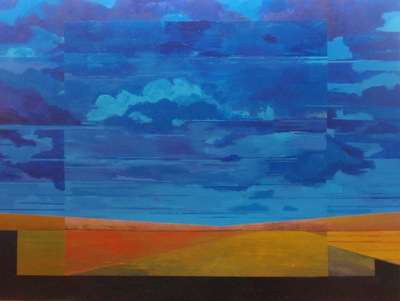 Mark Bowles, Ever Changing Landscape #2, Acrylic on Canvas, 60