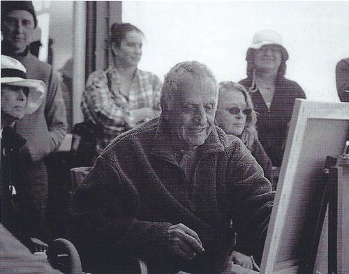 Gregory Kondos teaches a workshop