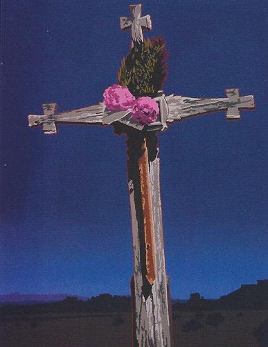 "Billy Schenck, From Hee to Eternity, oil, 38""x32"""