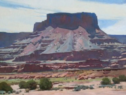 "Ray Roberts, Dead Horse Mesa, oil, 30"" x 40"""