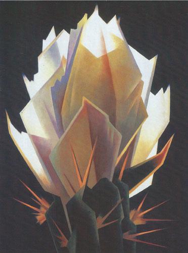 """Ed Mell, Desert Diamond, oil, 40""""x30"""""""