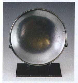 San Ildefonso Gunmetal Plate