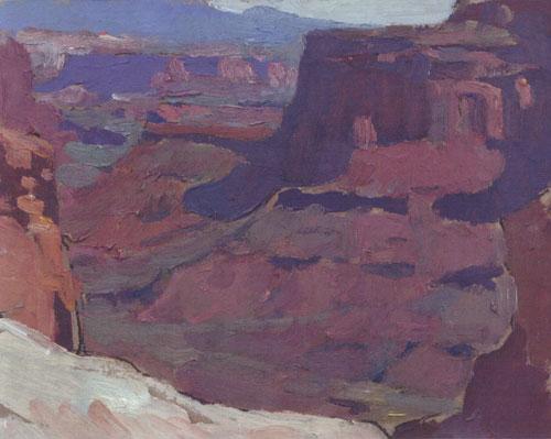 Glenn Dean, Canyonlands, 2013, oil, 6