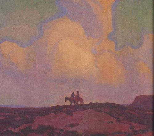 Glenn Dean, Receding Storm, 2013, oil, 20