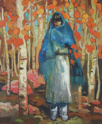 "Francis Livingston, Harmony, oil, 20""x16"""