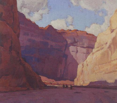 Glenn Dean, Canyon de Chelly, 2014, oil, 36