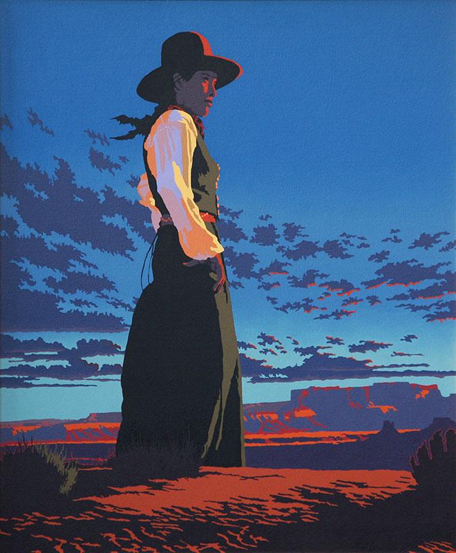 """Bill Schenck, Thoughts Abound, oil on canvas, 36"""" x 30"""""""