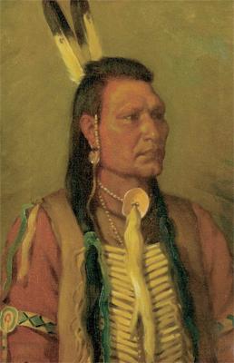 """J. H. Sharp, Rabbit Tail, oil, 18"""" x 12""""  Photo courtesy Cowan's Auction House, Inc. Cincinnati, OH"""