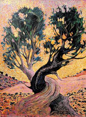 Shonto Begay, The Covenant, Acrylic