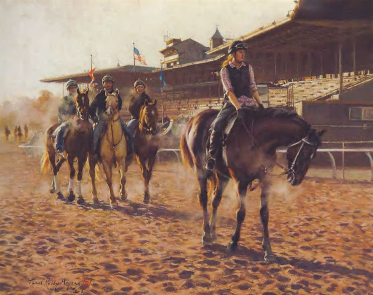 "Terri Moyers, Balconies of Cordoba, Oil on Canvas, 24"" x 30"""