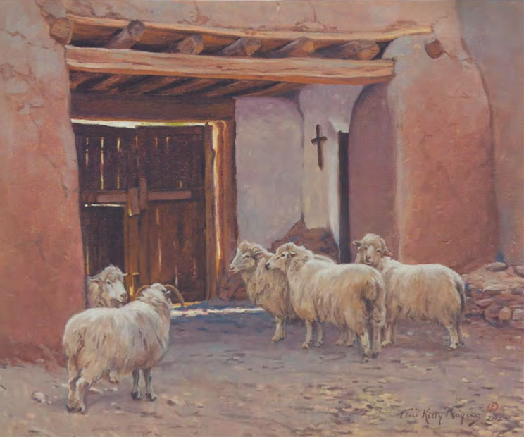 "Terri Moyers, Churro, Oil on Canvas, 20"" x 24"""