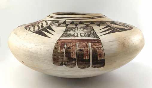 """Nampeyo Old Lady of Hano, Hopi jar, ca. 1900-1910, 52/5 x 11"""""""