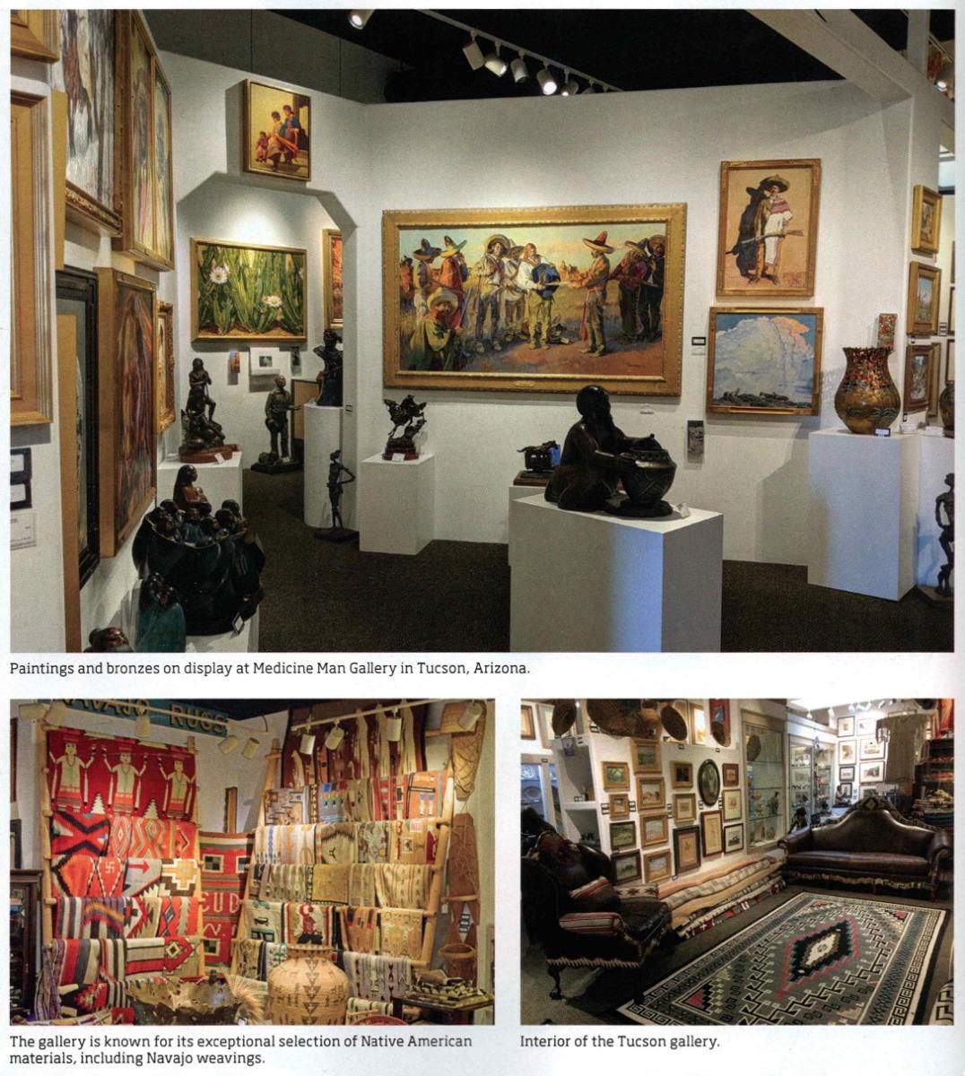 Medicine Man Gallery Interior