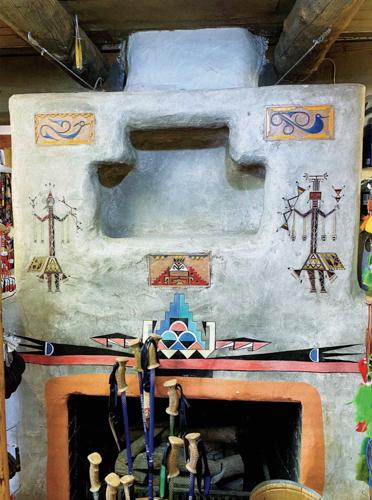 Garden of the Gods Curio Co. interior with inlayed Awa Tsireh tiles
