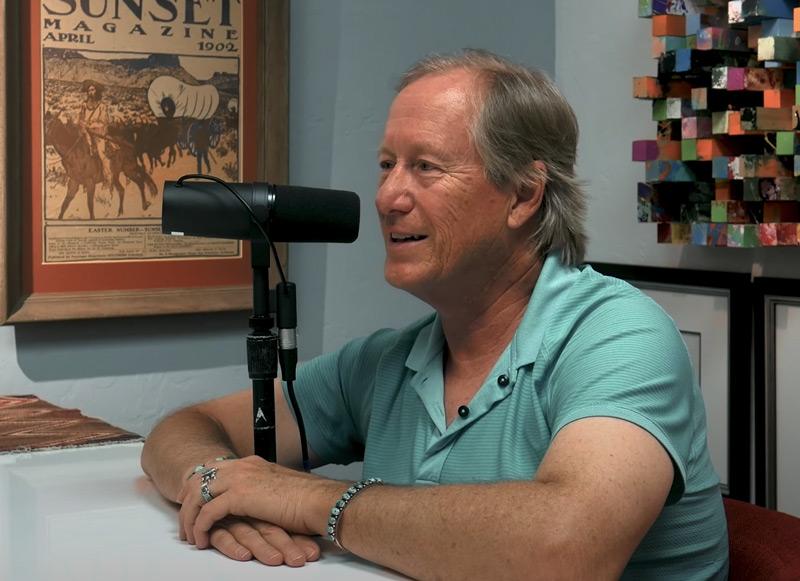 Host of Art Dealer Diaries Podcast, Dr. Mark Sublette