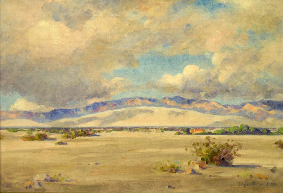Agnes Pelton, Between Storms, Edom Hill, 1937
