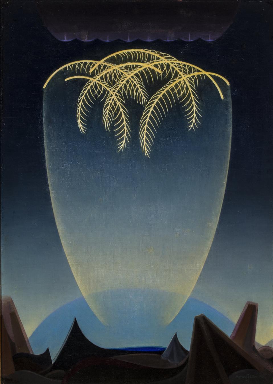 Agnes Pelton; Messengers; 1932