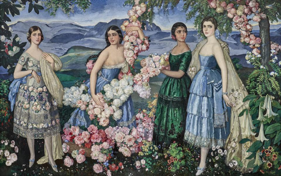 Alfredo Ramos Martínez, 'Flores Mexicanas,' 1914 - 29, oil on canvas,