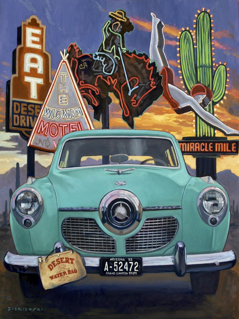 Dennis Ziemienski – Desert Evening Ride (PLV92603-0321-006)