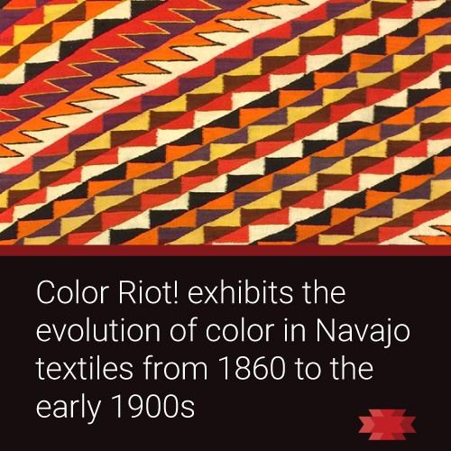 Read the Essential West article on the Navajo textile exhibit