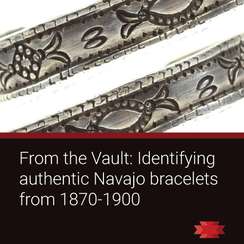 Read the Essential West article on how to identify authentic Navajo bracelets from 1870 through 1900.