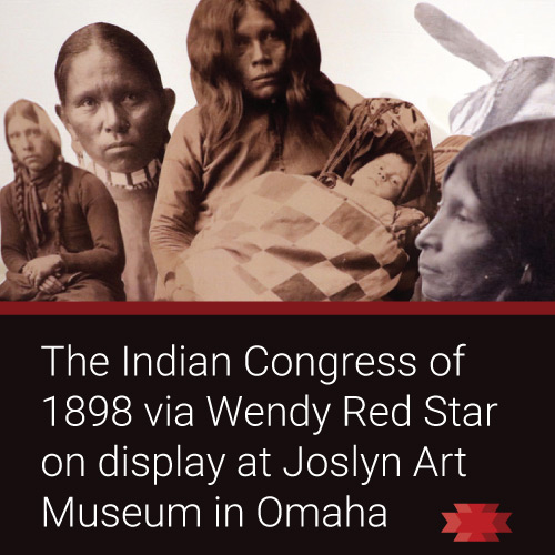Read the Essential West article on Wendy Red Star's exhibit