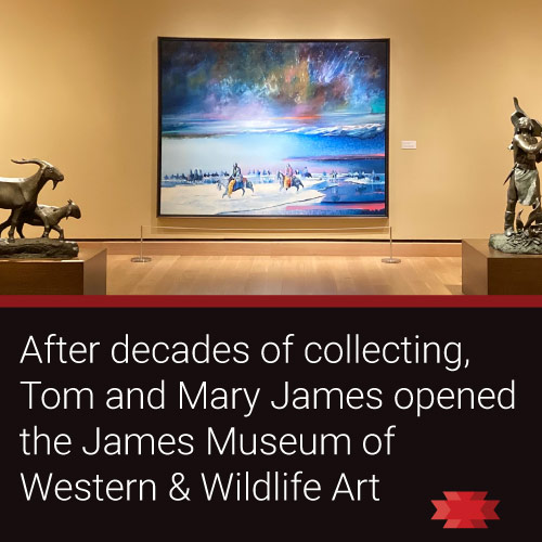 Read the Essential West article about the James Western and Wildlife Art Museum in St. Petersburg, FL