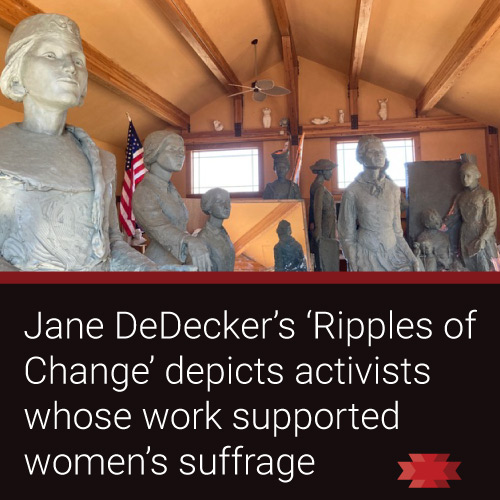 Read the Essential West article on Jane DeDecker's 'Ripples of Change'