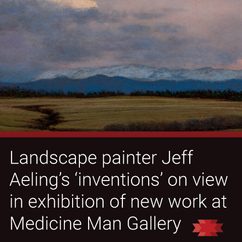 "Read the Essential West article on Jeff Aeling's ""Landscapes of the American West"""