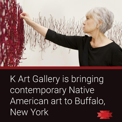 Read the Essential West article on K Art Gallery in Buffalo, NY bringing contemporary Native American art to the East coast.