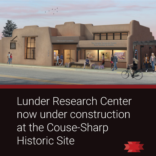 Read the Essential West article on the Lunder Research Center at the Couse-Sharp Historic Site.