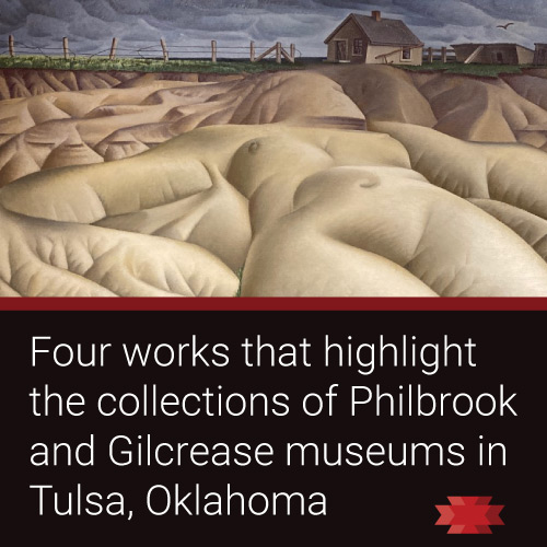 Read the Essential West article on themust see art of Tulsa, Oklahoma